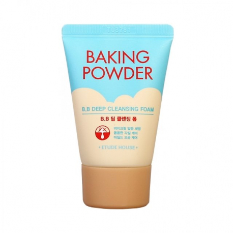 Etude House Baking Powder B.B Deep Cleansing Foam 30ml - Глубоко очищающая пенка для умывания