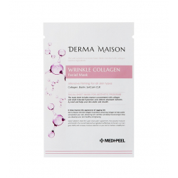 Medi-Peel Derma Maison Wrinkle Collagen Facial Mask 23ml - Тканевая маска с коллагеном против морщин