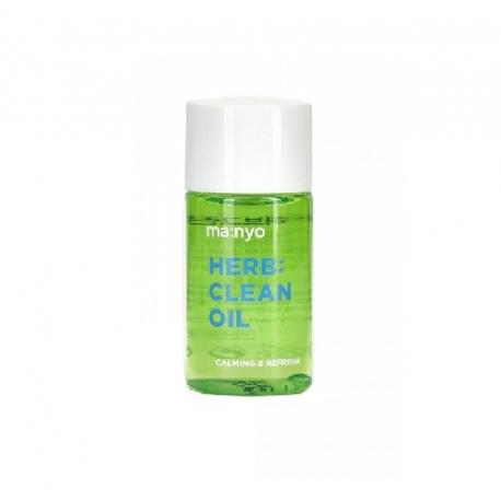 Manyo Factory Herb Clean Oil 25ml - Гидрофильное масло с успокаивающим действием