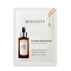 Botanity Flavon Serum Mask - Успокаивающая тканевая маска