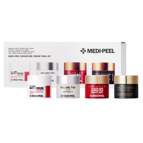 Medi-Peel Signature Cream Trial Kit 10g*4 - Набор миниверсий 4х кремов