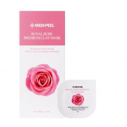 Medi-Peel Royal Rose Premium Clay Mask 8g - Очищающая маска с глиной и розой