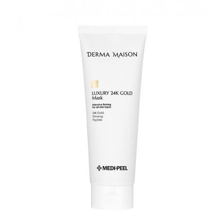 Medi-Peel Derma Maison Luxury 24K Gold Mask 250ml - Укрепляющая маска с золотом и пептидным комплексом
