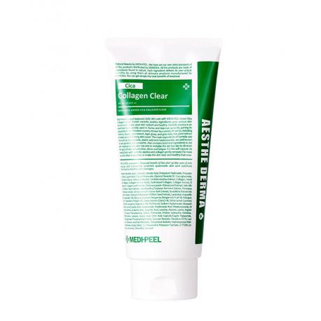 Medi-Peel Cica Collagen Clear 300ml - Очищающая пенка с центеллой