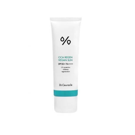 Dr.Ceuracle Cica Regen Anti-Dust Sun Gel SPF50+ PA++++ (50ml) - Успокаивающий солнцезащитный крем